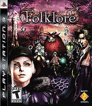 Folklore complete mint disc great shape PS3 (Sony PlayStation 3, 2007) - $23.75