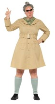 Roald Dahl Lujo Perder Trunchbull Disfraz, con Licencia Disfraz, Talla U... - $40.90