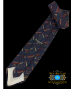 "NEW Christian Dior Monsieur Tie Blue, Red Designer 57"" - $12.95"
