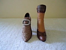 Lot of 2 Just The Right Shoe Miniature Collectible Shoes,1, # 25034,1, # 25014 - $18.69