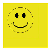 1960's 60's / 1970's 70's Party Supplies YELLOW SMILEY FACE LUNCH DINNER... - $4.94