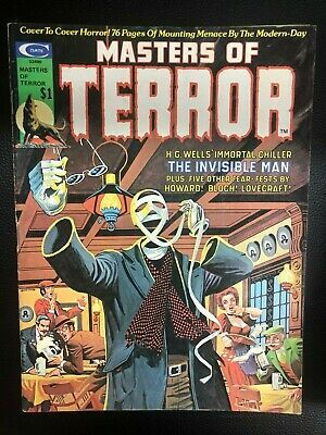 Primary image for MASTERS OF TERROR #2 (1975) Marvel Comics B&W magazine VG+