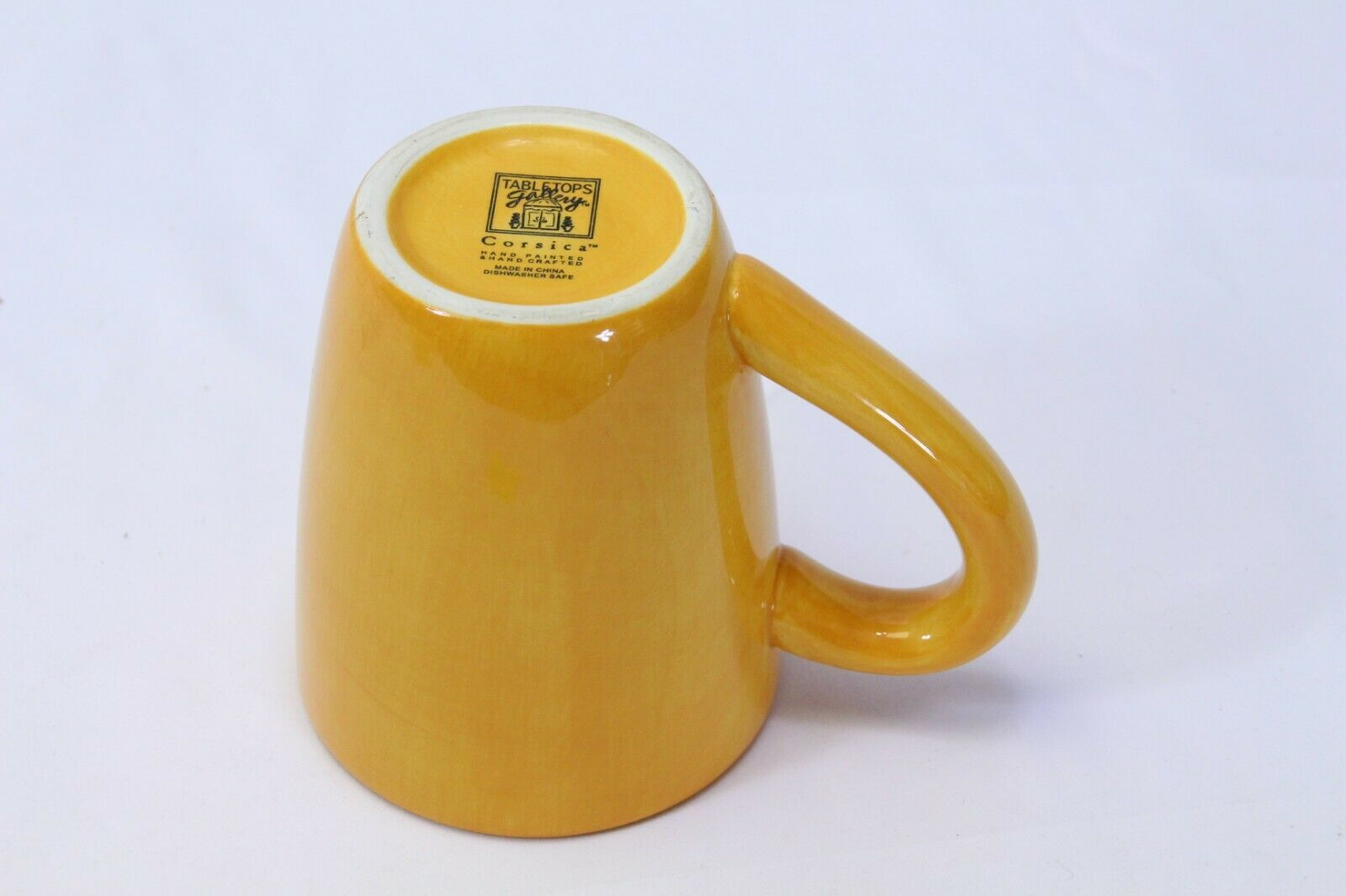 Tabletops Unlimited Corsica Mug Butter image 5