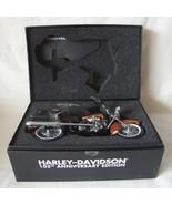 RARE 105th Anniversary Harley-Davidson ROAD KING 1/12 Scale NIB Die Cast... - $445.50