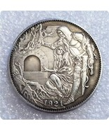 Hobo Nickel Grail Jesus Christ Medieval Kight Morgan Dollar Nickle Caste... - $9.49