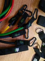 UPOWEX Unbreakable Resistance Bands Set – 5 Stackable Exercise Bands NEW image 4