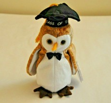 Collectible Beanie Babie Wisest The 2000 Owl Retired By Ty - $11.88
