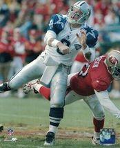 Nfl Troy Aikman Dallas Cowboys 8X10 Color Action Photo Mnt - $8.99