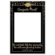 Class of 2019 Graduation Don't Take Life Too Seriously Social Media Selfie Frame - $19.80