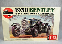 AIRFIX 1930 BENTLRY 4.5 LITRE SUPERCHARGED CAR MODEL KIT NEW! - $148.49