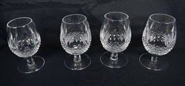 Waterford Crystal Colleen Tall Small Brandy Spirits Snifter Glass Set Of... - $198.00