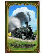 Durango & Silverton Colorado Railroad Metal Sign  - $29.99