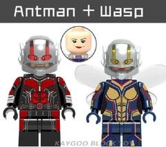 Superhero Compatible Legoinglys Antman wasp Building Block Toy - $1.75