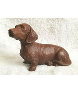 Red Mill Handcrafted DACHSHUND Figurine USA - $16.00