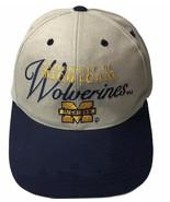 Vtg Michigan Wolverines NCAA Outdoor Cap Vintage 90's Cap Hat Adult NWOT - $26.19
