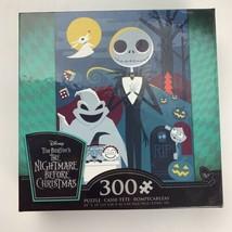 """Disney Tim Burton's Nightmare Before Christmas 300 Piece Puzzle 24"""" x 18... - $12.86"""