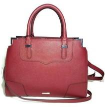 Nwt $325 Rebecca Minkoff Saffiano Red Amorous Satchel Tote Handbag - $175.99