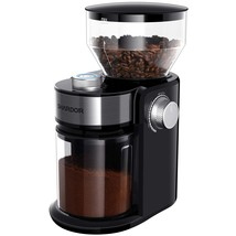 SHARDOR Electric Burr Coffee Grinder 2.0, Adjustable Burr Mill with 16 P... - $96.07