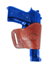 Barsony Burgundy Leather Yaqui Gun Holster for Smith&Wesson 9mm 40 45 Full Size - $26.99