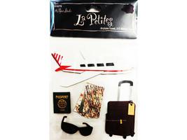 The Paper Studio La Petites Airplane Travel 3-D Stickers, #916270