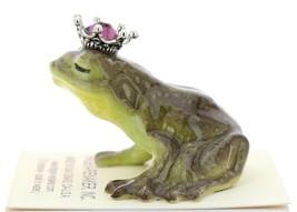Hagen-Renaker Miniature Frog Prince Kissing Birthstone 02 February Amethyst image 4