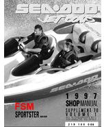 1997 SEADOO JET BOATS SPEEDSTER SPOSTER CHALLENGER EXPLORE WORKSHOP MANUAL - $14.95