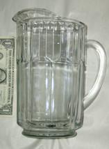 "Vintage 8"" Grueso Lrg 946ml Pesado 1.8kg Vidrio Transparente Cerveza Bebida - $23.49"
