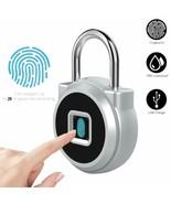 Allomn fingerprints safety padlock electronics keyless waterproof - $213.76