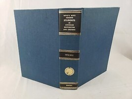 Who's Who Among Students in American Universities and Colleges 1974-1975 - $19.60