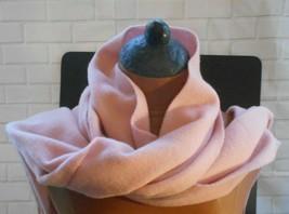 Vivienne Westwood Pink Wool Scarf 12x62 +Fringe - $23.13