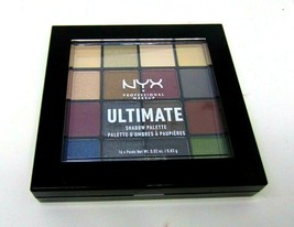 NYX ULTIMATE EyeShadow Palette No.USP01 Smokey & Highlight 16 x 0.02oz./... - $9.41
