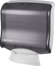 San Jamar T1755TBK Ultrafold Fusion Folded Towel Dispenser, Fits 400 Mul... - $20.51