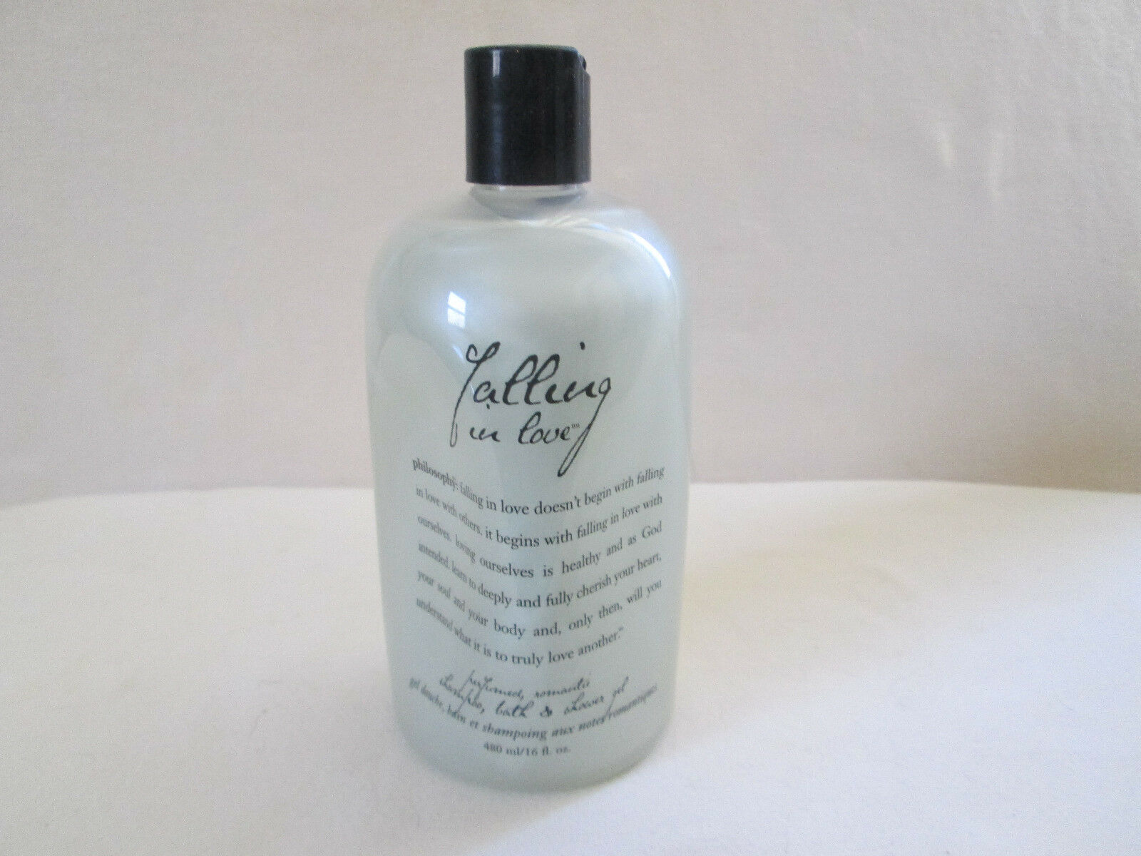 Primary image for PHILOSOPHY~ Falling in Love ~ 16 oz Bath & Shower 3 in 1 VINTAGE Pre Coty