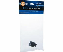 Autopilot RJ12 Splitter Connects Ballast USB Cable to RJ12 Trunk-Line Black - $4.43