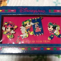 1900s Disney Land Paris Pin badge 5th Anniversary of the Euro  Mickey mouse - $143.55