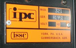 ISSC MODEL 321 MODULE SLOT RACK SER. 81951 image 4