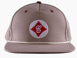 Cousins SportsWear Men's Cook County Leather Strapback Baseball Hat Cap NWT image 1