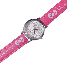 Hello Kitty Rose Pink Band Girls Teens Fashion Gift Watch KT-303-RP - $12.84