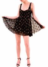 Free People Women's Heart It Races Mini Dress Black Combo Size XS RRP £1... - $99.91