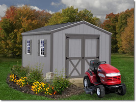 Best Barns Elm 10x16 Wood Storage Shed Kit - ALL Pre-Cut - $2,202.47