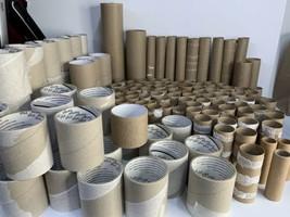 Lot 150 Toilet Towel Paper Tape Mix Empty Cardboard Tubes Crafts School ... - $29.69