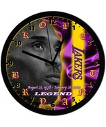 KOBE BRYANT 8in. Unique Homemade Wall Clock, Battery Included, Free Ship... - $23.97
