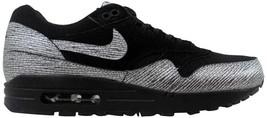 Nike Air Max 1 Premium Black/Metallic Hematite-Black 454746-005 Women's SZ 5 - $76.00