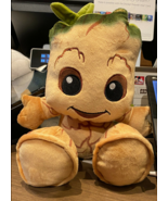 Disney Parks Baby Groot 10 inch Big Feet Plush Doll NEW Guardians of the... - $31.90