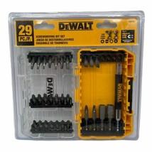 (New) Dewalt DW2162 Screwdriving Bit Set 29Pc, MISSING 4 BITS - $15.34