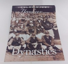 NEW YORK POST--THE YANKEES CENTURY PART 9: DYNASTIES - $5.35