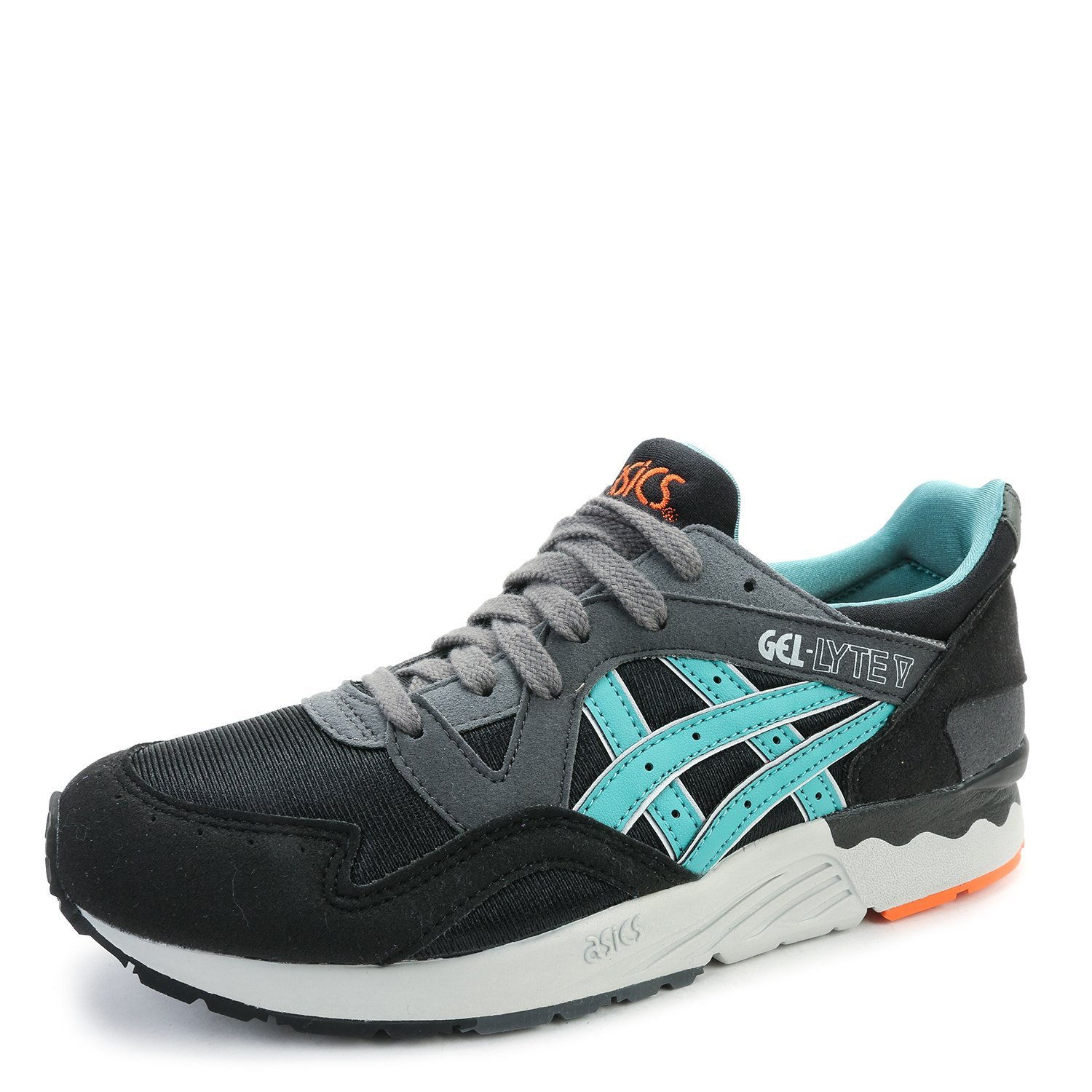 Asics Kid's Gel Lyte V GS Running Sheos C541N.9016 Black/Latigo Bay SZ 5