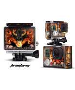 Skin Stickers for GoPro Hero 3+ Camera & Case Decal HERO3+ Go Pro FIRESTORM - $9.85