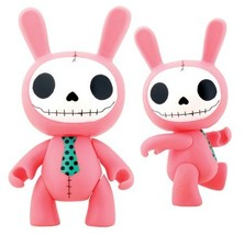 Furrybones Pink Bunny Bun Bun Collectible Vinyl Figurine - $14.99