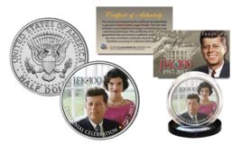 President KENNEDY JFK 100 Birthday 2017 Official JFK Half Dollar Coin w/... - $8.86